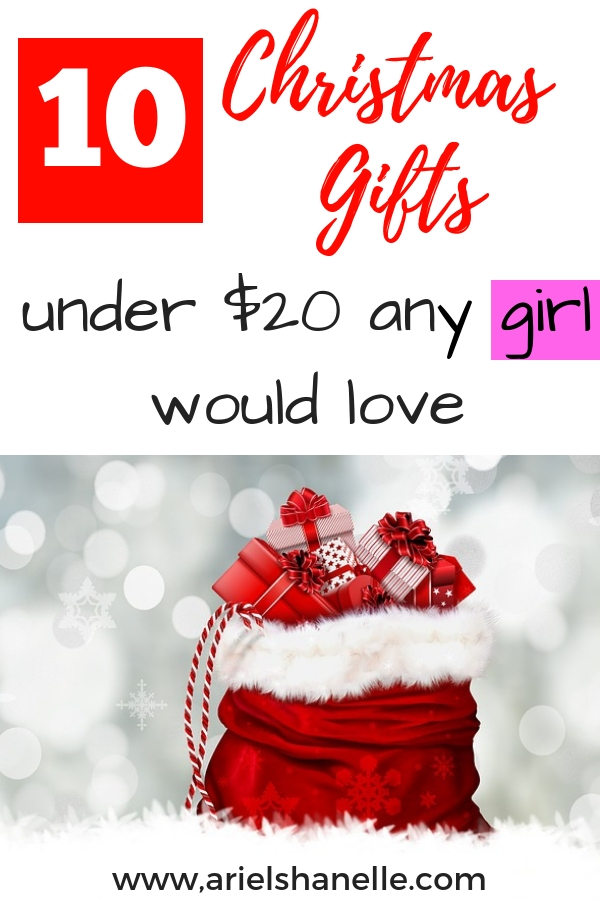 Girls will love these Christmas gift ideas.