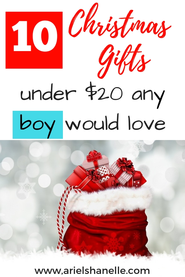 Any boy will love these Christmas gift ideas!