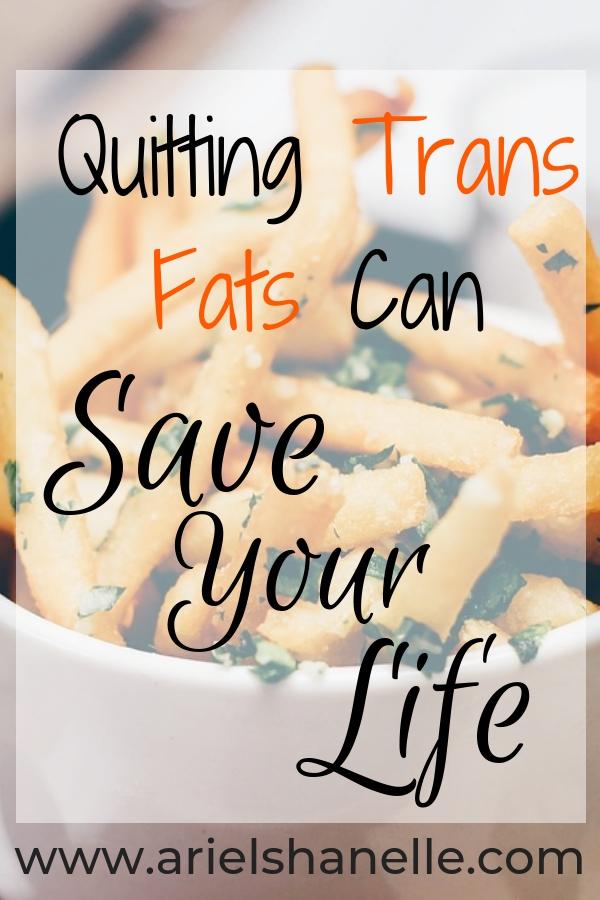 Dangerous side effects of trans fats