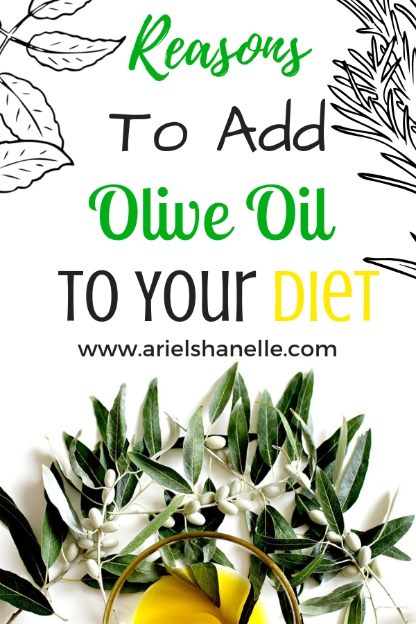 Olive oil is so healthy for you. It fights off so many diseases including cancer. There are so many wonderful health benefits of olive oil!