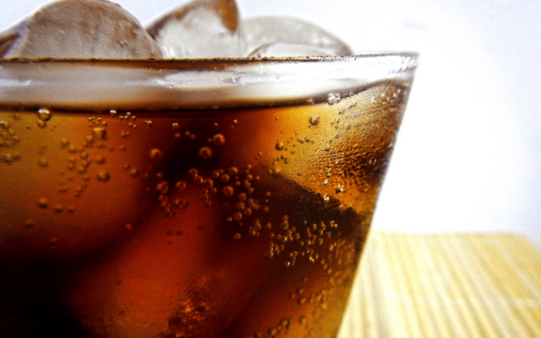 Soda is filled with high fructose corn syrup. Quit the soda addiction today.