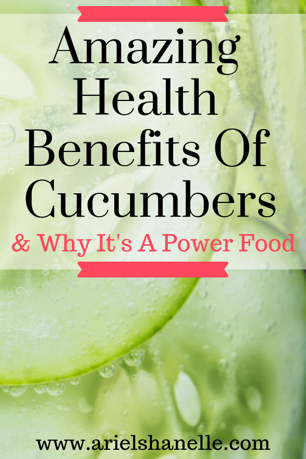 Health Benefits Of Cucumbers And Why It's A Powerfood