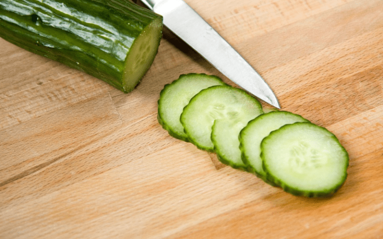 Eliminate bags under your eyes by using cucumbers, just like the spas do!