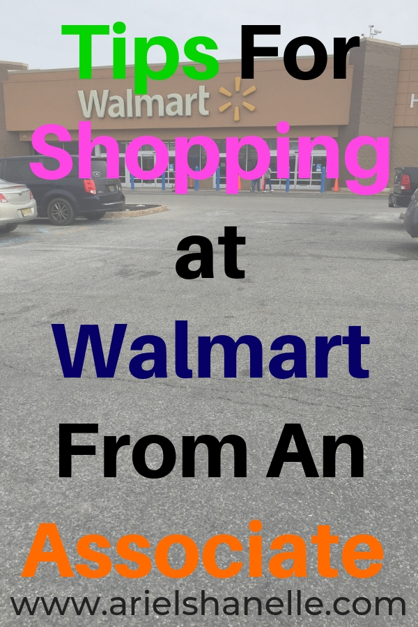 How to save money while shopping at Walmart.