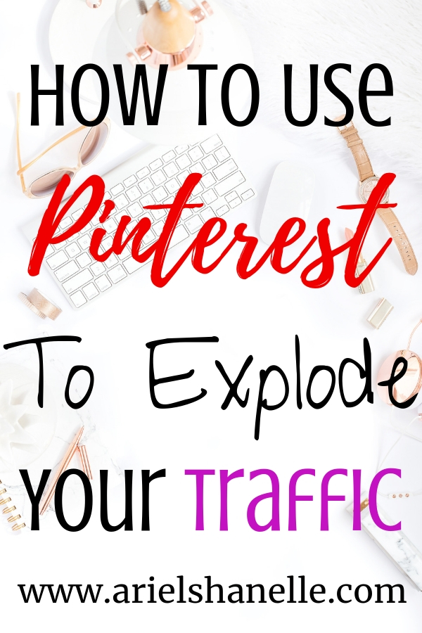 How To Use Pinterest to increase blog traffic