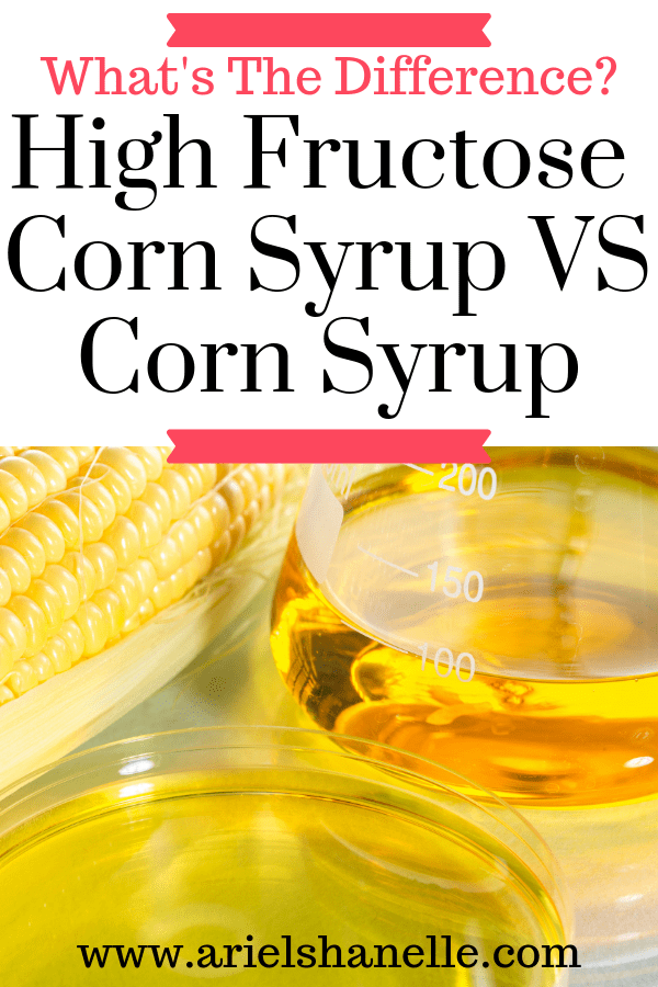 What's the difference between High fructose corn syrup (HFCS) and corn syrup?