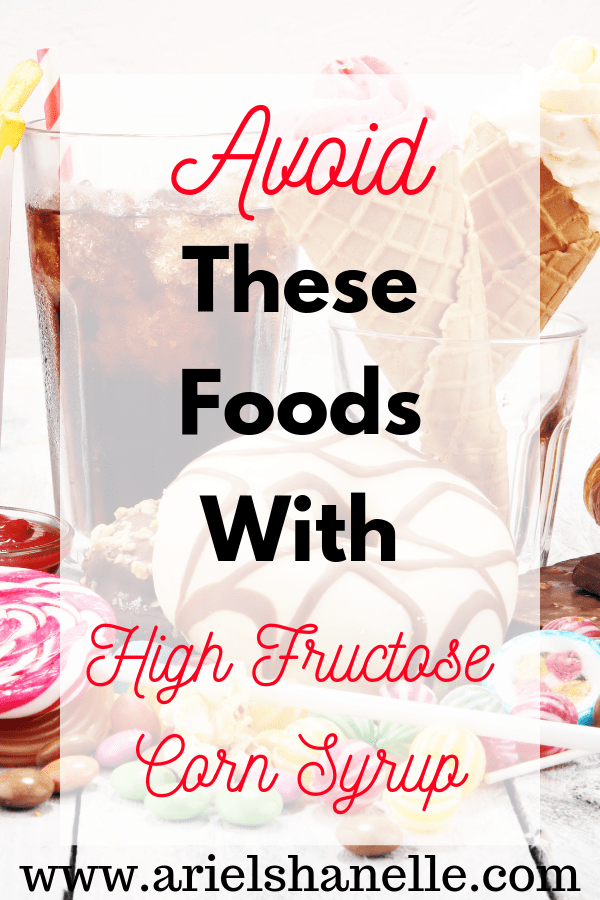 Foods with high fructose corn syrup