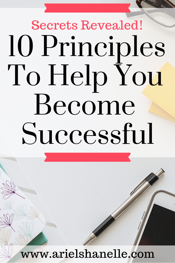 10 tips for how to become successful and how to be successful.