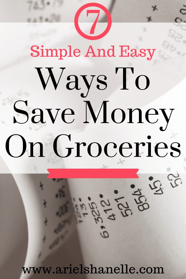 Simple and easy ways to save money on groceries | Personal finance | Budgeting