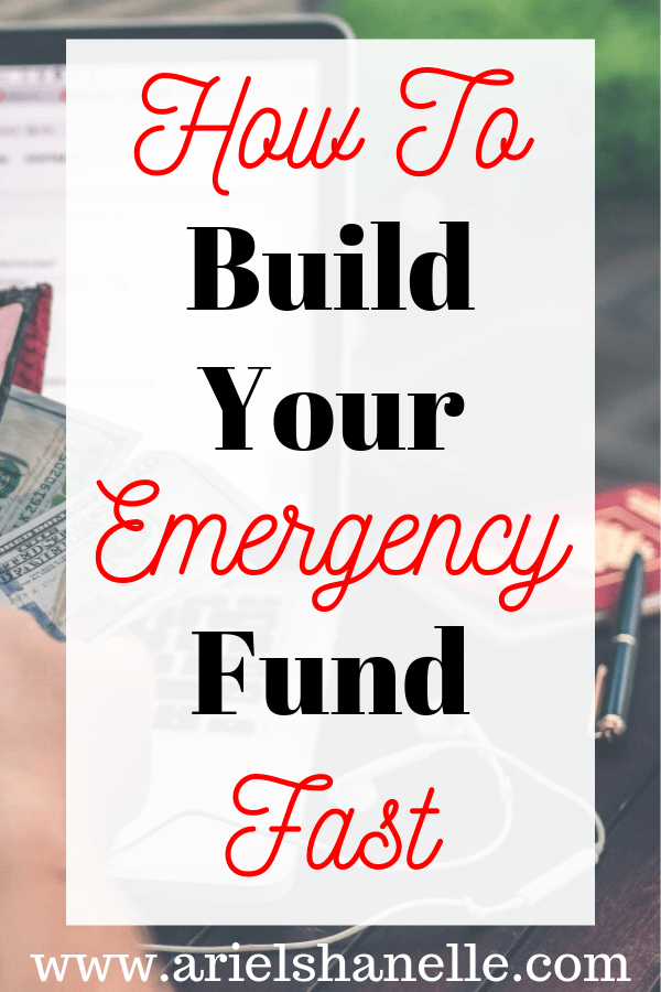 How To Fund Your Emergency Fund Fast