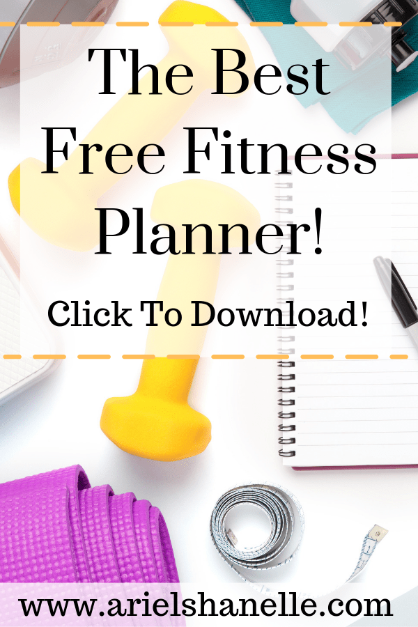 Fitness Planner | Free Printable
