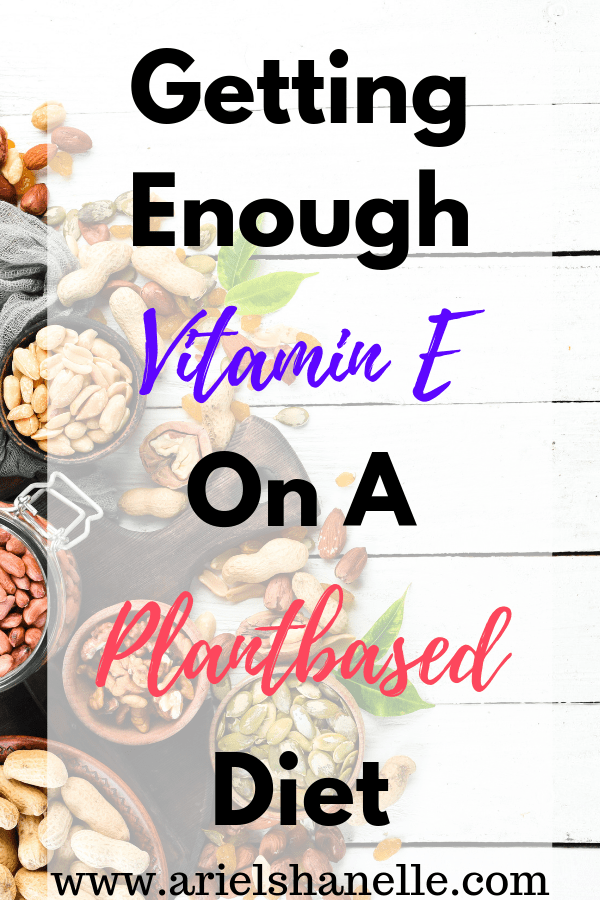 Vitamin E foods for a plant-based diet