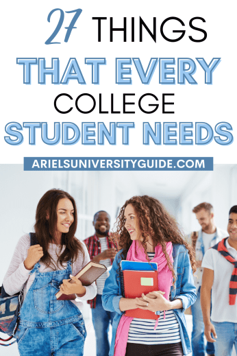 things every college student needs