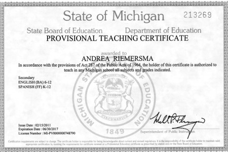 Free Resume Sample » michigan test for teacher certification ...