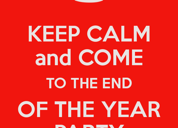 End of Year Party datum is bekend