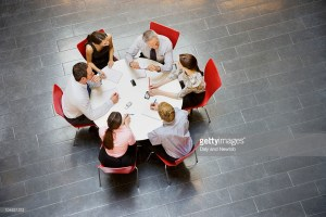 Round tabel meeting - Getty Images