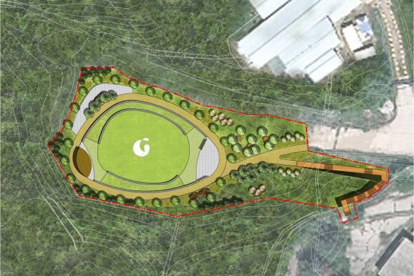 Omma Poom Memorial Park voor geadopteerden in Paju