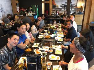 Eten bij Kimchi House 1