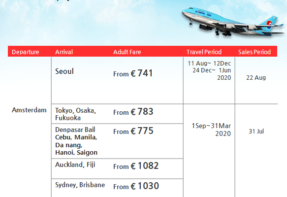 Korean Air Promotion – Daihan Travel