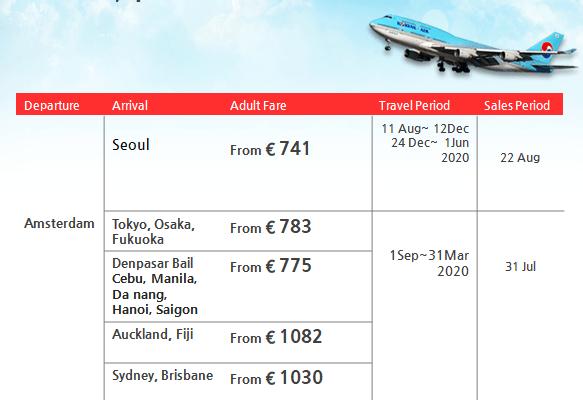 Korean Air Promotion – Daihan Travel