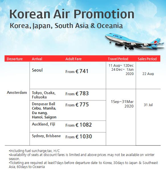 201907 Korean Air Promotion