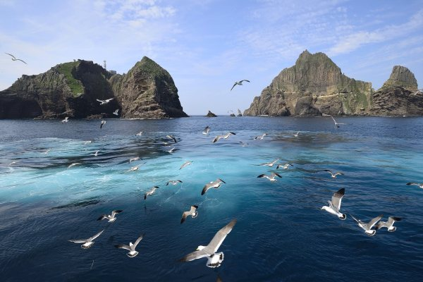 Video over Dokdo