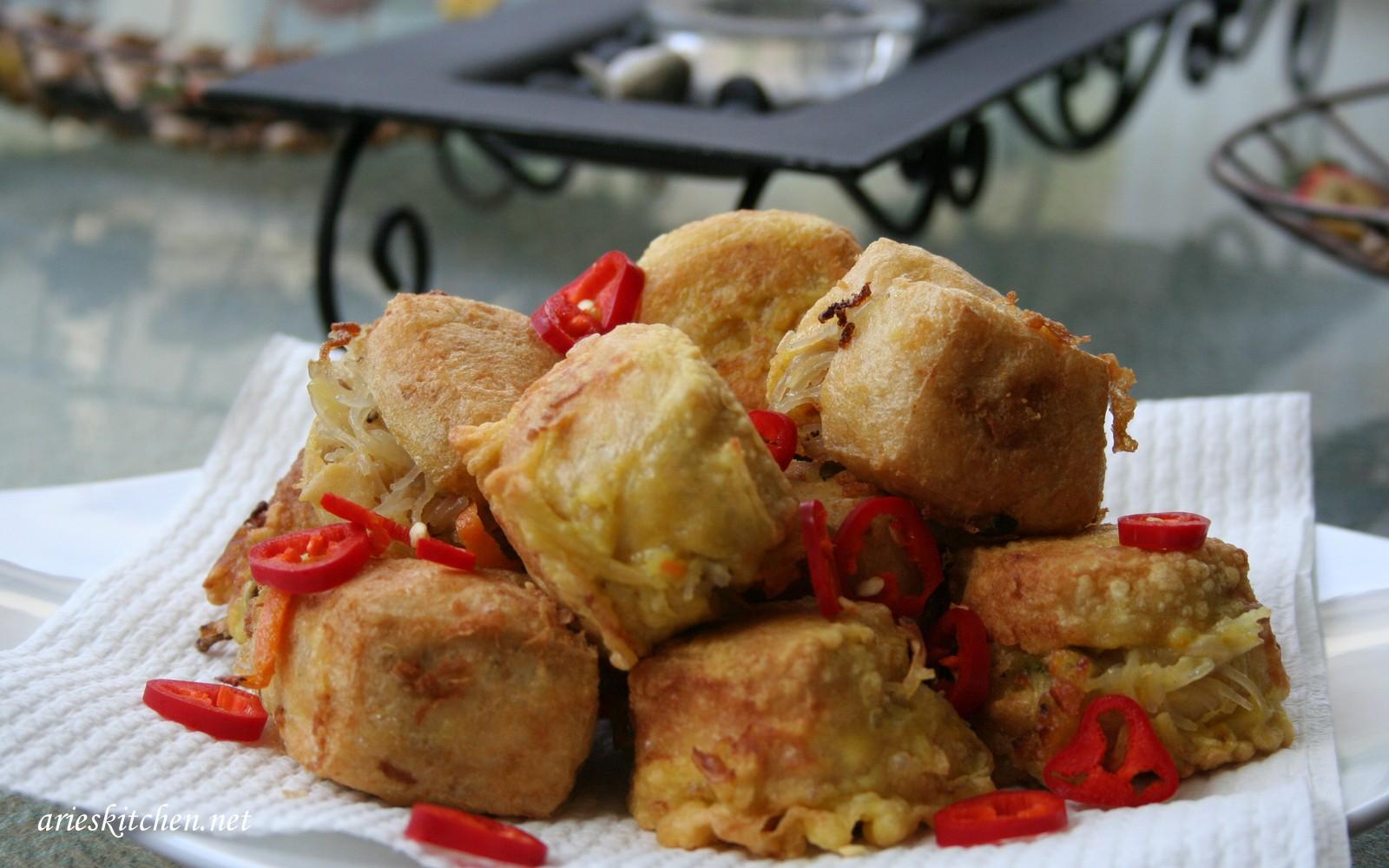 Resep Tahu Isi Enak Dan Mudah Arie S Kitchen