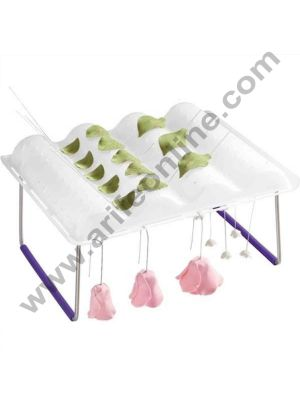 Cake Decor 1Pcs Flower Wave Drying Rack,Flower Wave Fondant and Gum Paste Drying Rack