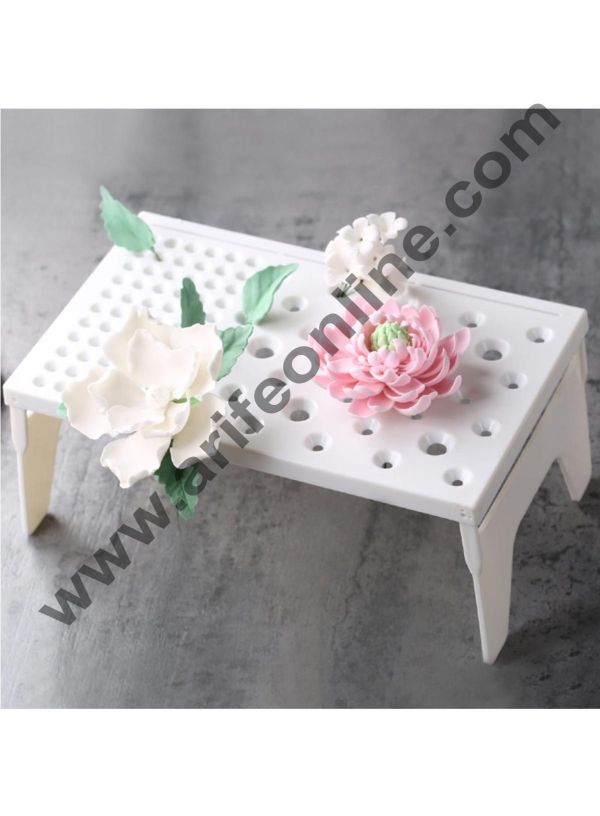 Cake Decor Cake Decorating Shelf Sugar Craft Fondant Foldable Gum Paste Flower Drying Holder Air Dry Rack Stand Baking Tools For Cakes 3