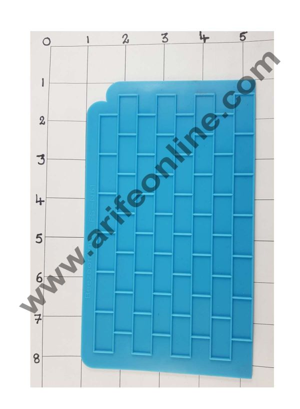 Cake Decor Silicon Blocks Pattern Impression Onlays Fondant Clay Marzipan Cake Decoration Mould 1