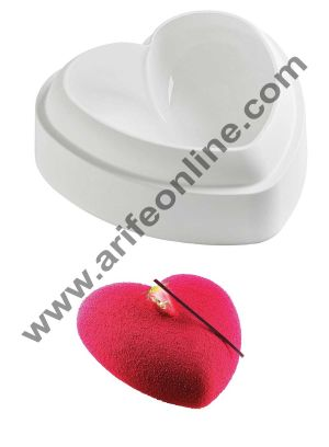 Cake Decor Silicon Small Rounded Heart Design Cake Mould Mousse Cake Mould Silicon Moulds