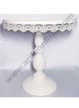 Cake Display Stands White 12 inch Height
