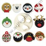 Cake Decor 1 Pc Mix Match Face Plastic Fondant Cutter Gumpaste Cutter