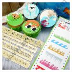 Cake Decor 4 Pc Earth Wind Fire Ice Themes Tappet Cutter Plastic Fondant Cutter Gumpaste Cutter