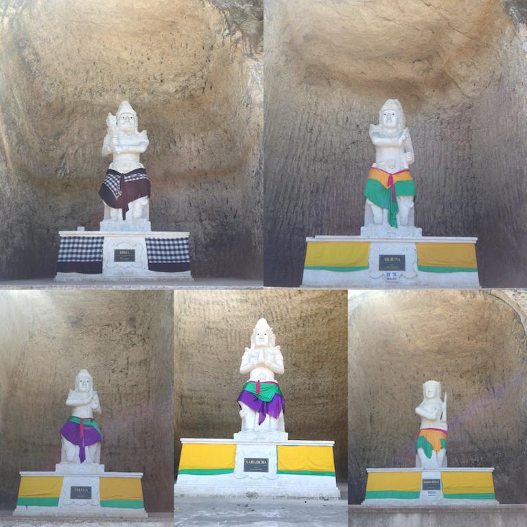 Patung Panca Pandawa