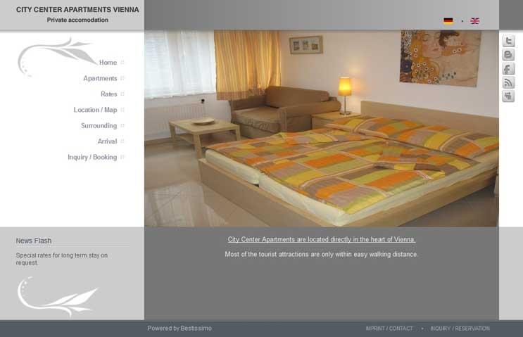 Joomla Multilingual Apartment Site