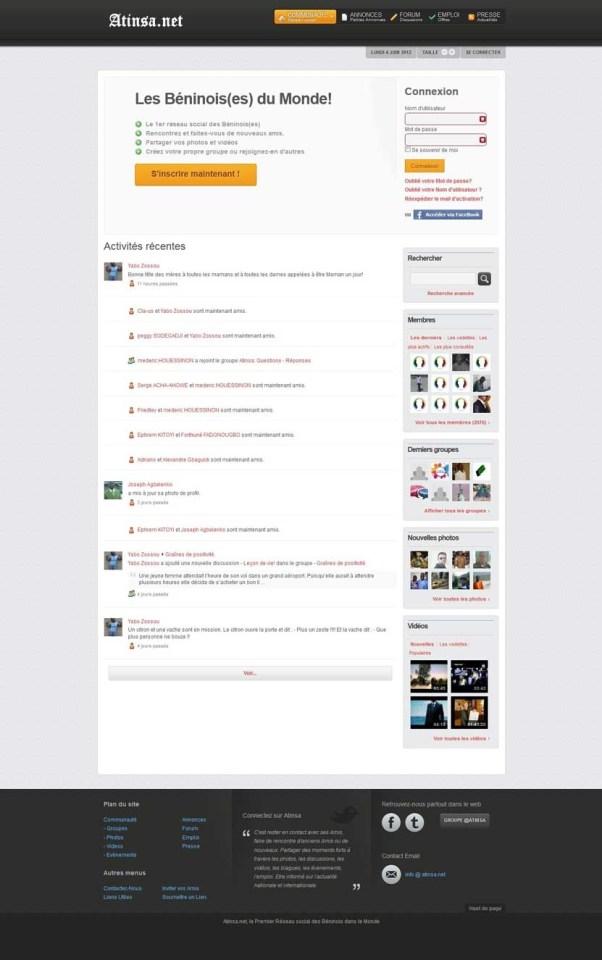 Joomla Social Site