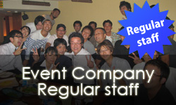 Event Company Regular staff