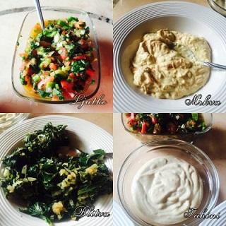 Prilozi uz ribu ili meso- 4 recepta