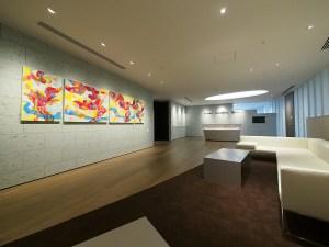 山田ちさと「Landscape連作」 92×117cm2枚、90×60cm2枚