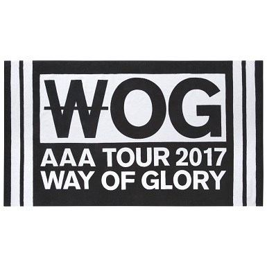 AAA DOME TOUR 2017  - WAY OF GLORY-【DVD / Blu-ray】