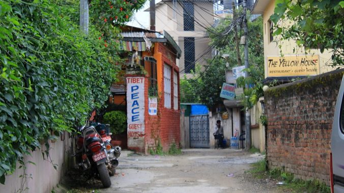 Tibet Peace Guest House and other guesthouses in Paknajol, a quiet area northwest of Thamel.
