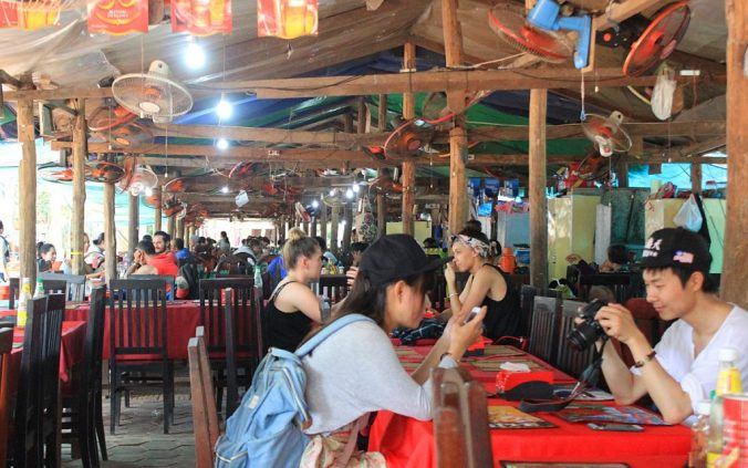 A lunch restaurant near Angkor Wat.