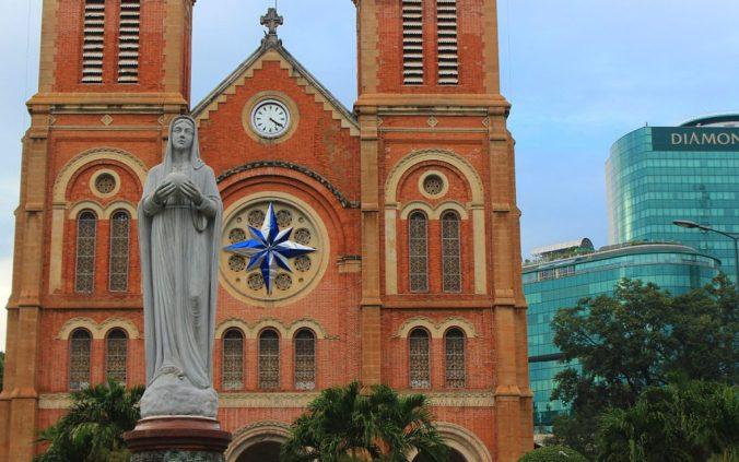The Notre Dame Church of Ho Chi Minh City (Saigon), Vietnam.