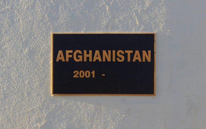 Anzac Hill plaque
