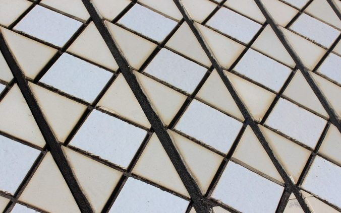A close-up shot of the texture of Sydney Opera House.