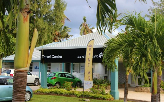 Air New Zealand office in Nuku'alofa, the capital of Tonga.