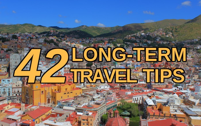 42 less obvious long-term travel tips