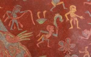 Murals in Teotihuacan.