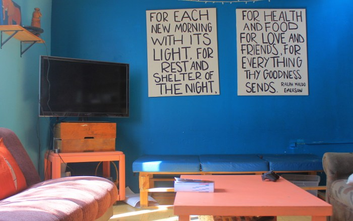 Warm Heart Community living room